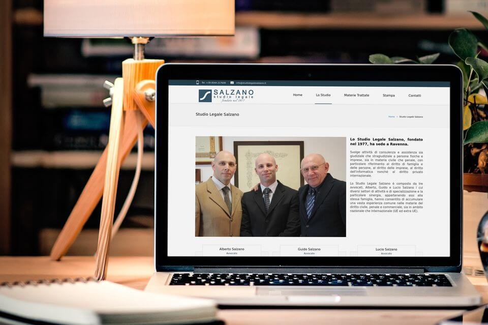 Studio Legale Salzano Ravenna sito web