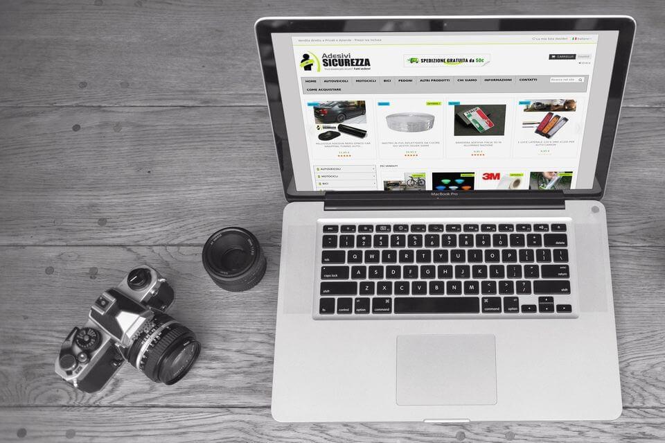 Adesivisicurezza sito ecommerce prodotti sicurezza
