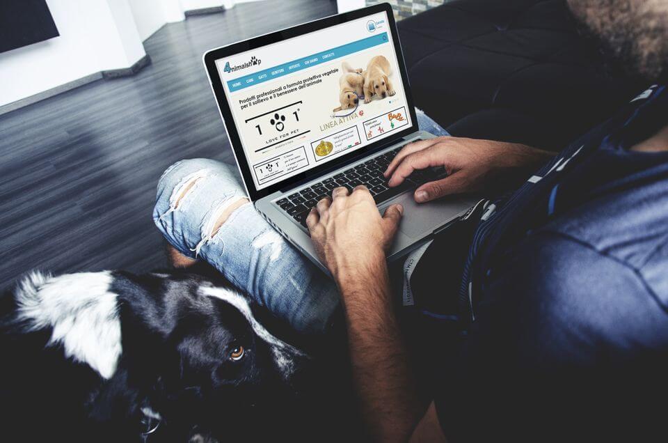 4nimalshop sito ecommerce