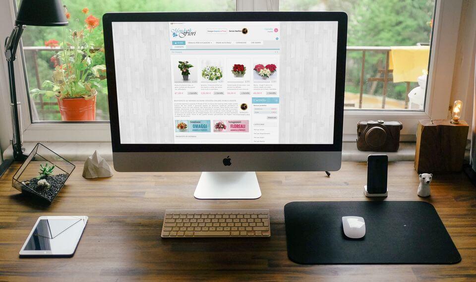 Mondo di Fiori sito ecommerce vendita fiori Padova