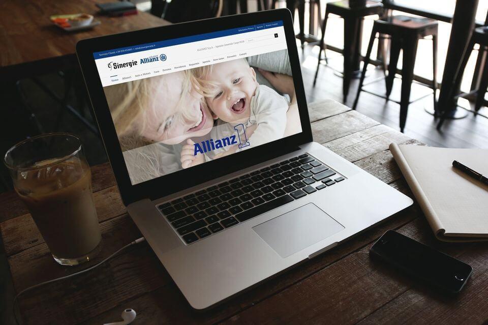 Allianz Carpi sito web aziendale
